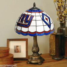 NEW IN BOX NEW YORK GIANTS TIFFANY STYLE DESK TABLE LAMP THE MEMORY COMPANY