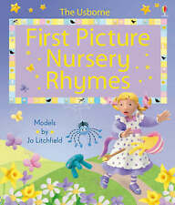 Brooks, Felicity First Picture Nursery Rhymes (Usborne First Picture Books) Very