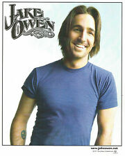 Jake Owen 2011 Color Publicity Photo