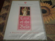 dvd the polish order of Malta volunteers carol of the bells Christmas music  new