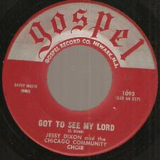 JESSY DIXON & CHICAGO COMMUNITY CHOIR Christ My Hope BLACK GOSPEL R&B SOUL 45