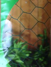 Pvc Coated Garden Netting Chicken Rabbit Wire Mesh Roll 10m x 13mm x 500mm 10135