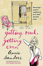 GETTING MAD, GETTING EVEN by Annie Sanders : WH2-G : PB448 : NEW BOOK