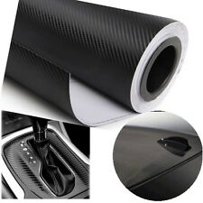 Carbon Fiber Vinyl Film Wrap Sheet Auto DIY Sticker 3D Bubble Free Decal
