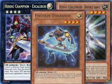 Yugioh Heroic Champion Theme 41 Card Lot XYZ Excalibur Command Knight