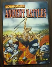 Warhammer Ancient Battles * Wargames in the Anicent World * Games Workshop