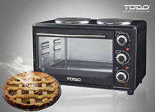 TODO 23L BENCHTOP ELECTRIC OVEN TWO HOT PLATES