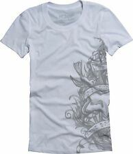 Fox Racing Fox Girl Majestic s/s Shirt White, Large