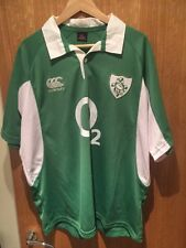 Genuine IRELAND CANTERBURY RUGBY JERSEY SHIRT SIZE XL (V.G.C) Triple Crown Win