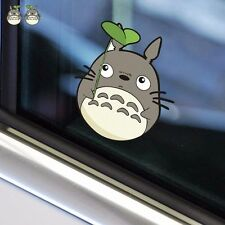 2PCS Totoro Cat Leaf Rearview Side Mirror Random Body Wall Decals Car Stickers
