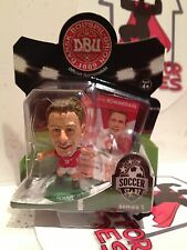 SOCCER STARZ DENMARK ROMMEDAHL GREEN BASE SEALED IN BLISTER PACK