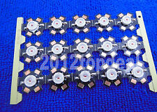 50PCS 3W High Power Red LED Light Emitter diodes 610-630NM with 20mm Star pcb