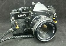 Ricoh KR-10 SLR 35mm Film camera with 50mm F2  RIKENON Lens, Pallas 52mm Filter