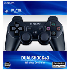 New Original Official SonyPlay Station 3 Controller Wireless Dualshock 3 (Black)