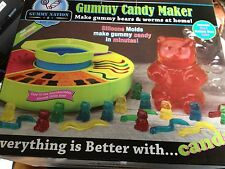 GUMMY NATION GUMMY CANDY MAKER GIANT BEAR WORMS MOLD KIT