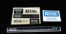 Rane DJ 8 Sticker Set & Promo Cards    SERATO    Rane DJ