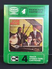 Jose Melis ‎ Piano Classics The South American Way SEALED 4 TRACK Cartridge RARE