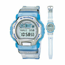 RETRO 1999 Casio G-Shock W.C.C.S. Special DWM100WC-2 Clear Blue Watch *MINT*