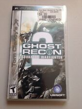Ghost Recon Advanced Warfighter 2 UMD For PlayStation Portable Tom Clancy's
