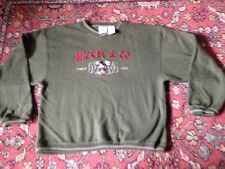 Mickey Mouse Men's Large Sweatshirt Mickey And Co. Crewneck