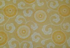 OSBORNE AND LITTLE LYSANDER SUNFLOWER YELLOW ABSTRACT FLORAL FABRIC BY THE YARD