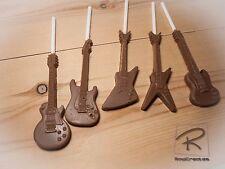 Guitar Belgian chocolate lollipops x 5 les paul/explorer/sg/dean ML/stratocaster