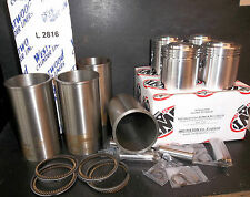 ARIEL SQUARE FOUR 4G MKI & MkII 1000cc STD PISTON KIT & CYLINDER SLEEVES NEW