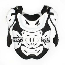 LEATT CHEST PROTECTOR 5.5 PRO BMX MX ATV OFFROAD SUPPORT WHITE ADULT ONE SIZE OS