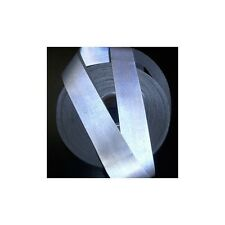 """Safety Reflective Silver Tape sew on 2 """"x 1 yard trim Fabric"""