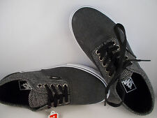 VANS LPE 2 Tone Suiting Black/White Skateboarding Shoes Men's Size 7 New In Box