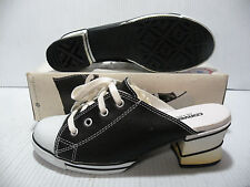CONVERSE ALL STAR HI HEELED MULE SANDAL VINTAGE WOMEN SHOES 59106 SIZE 7.5 NEW