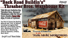 Back Road Buildin's Thrasher Bros Warehouse Kit Yorke/Scale Model On3/On30 *NEW*