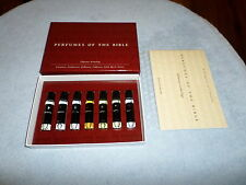 PERFUMES OF THE BIBLE - OLFACTORY ARCHEOLOGY - 7 BOTTLES - 100% NATURAL - NEW