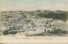 CARTE POSTALE / POSTCARD / MAROC / TANGER / TANGIERS BIRDS-EYE-VIEW FROM PRISON