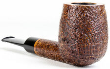 Unsmoked Former VERY BIG BILLIARD Rusticated tapered stem Pipe Pipa