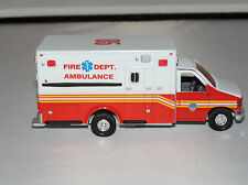 Diecast Ford E-350XL Type III version Fire Department Ambulance 1:43