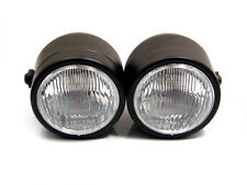 Pair of Twin Black 35W Retro Headlights for Honda CBX1000 CBX 1000 Streetfighter