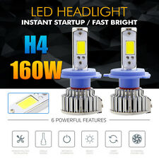 H4 Bi-Xenon Hi/Lo 160W 16000LM CREE LED Headlight Conversion Kit Lamp Light Bulb