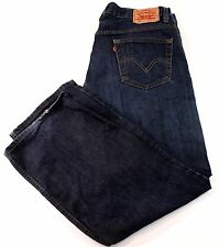 LEVIS 559 36x30 RELAXED Straight FIT Mens JEAN Dark WASH
