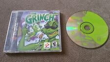 The Grinch (Sega Dreamcast, 2000) with case and manual