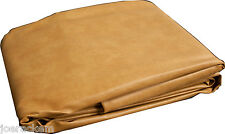 "7A Saddle Hood Fitted Pool Table Cover, 50""x90"" Double Sewn Seams"
