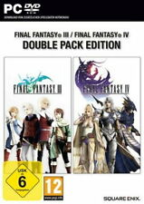 PC Computer Spiel * Final Fantasy III 3 + IV 4 - Double Pack *********NEU*NEW*55