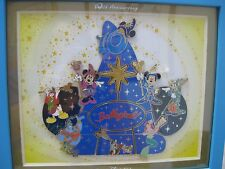 Tokyo Disney Sea 10th Anniversary Be Magical Framed Puzzle Set 10 Pins New
