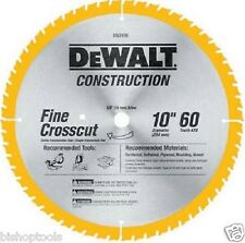 "DeWalt DW3106 10"" Crosscutting Saw Blade 60 Teeth 5/8"" Arbor"