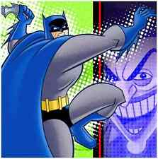 RARE Batman Brave & Bold Superhero Cartoon Birthday Party Paper Luncheon Napkins