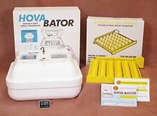 HovaBator Egg Incubator w/ Turner for chicken Therm/Hyg