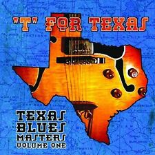 FREE US SHIP. on ANY 2 CDs! NEW CD Various Artists: T for Texas: Texas Blues Mas