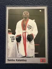 SAMBU KALAMBAY (Zaire)  1991 AW Boxing #95  MINT w/Top Loader!
