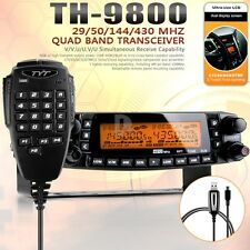 TYT TH-9800 Plus Quad Band Dual Display Repeater Car Truck Ham Radio 809CH DHL