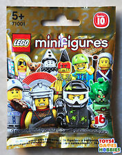 NEW LEGO Minifigure SERIES 10-SEALED BLIND BAG-RANDOM-Medusa? Mr Gold Librarian?